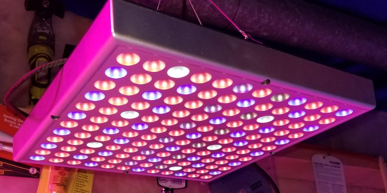 New 45 Watt Zongsi Square Plant Supplementary LED Grow Light