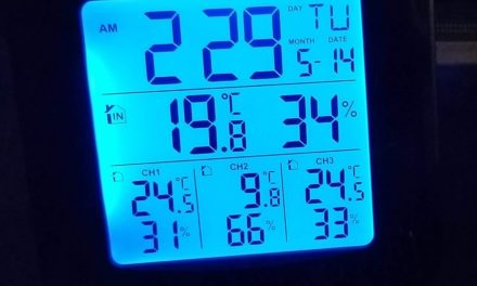 Wireless indoor outdoor Weather Station Thermometer from Tekcoplus