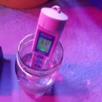 3 in 1 Waterproof pH EC Temp Meter with Black Light Test Kit for Aquariums, Hydroponics and Pools